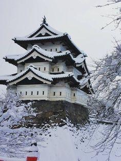 Hirosaki Castle (Hirosaki Park) , Aomori, Japan