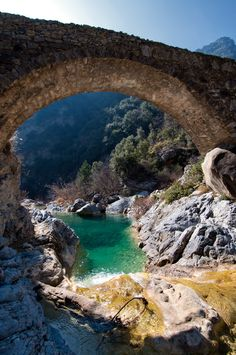 Ponte Cin - Rocchetta Nervina, Liguria, Italy