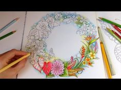Magical Jungle: Tropical Love - Part 2 | Coloring With Colored Pencils