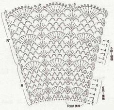 Set for girls crocheted