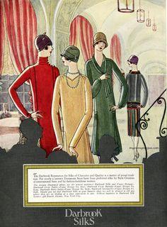 1920s Fashion Women, Fashion Art, Vintage Vogue, Vintage Fashion, Fashion Illustration Vintage, Fashion Illustrations, 1920s Dress, Art Deco Design, Aurora Sleeping Beauty