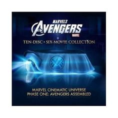 Marvel Cinematic Universe: Phase One - Avengers Assembled (Iron Man / The Incredible Hulk / Iron Man 2 / Thor / Captain America: The First Avenger / The Avengers) [Blu-ray] Ms Marvel, Marvel Avengers Assemble, The Avengers, Blu Ray Collection, Movie Collection, X Movies, Marvel Movies, Disney Movies, Films