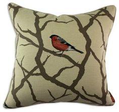 Chooty and Co Pyrrhula Corded Pillow - modern - Pillows - Hayneedle