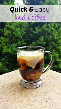 Quick and Easy Iced Coffee Recipe with Instant Coffee | www.kouponkaren.c...