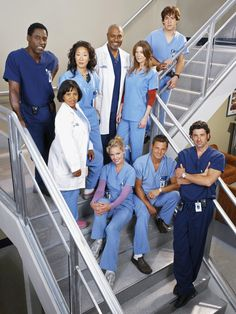 Grey's Anatomy the original cast