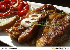 Pikantní bůček na hořčici recept - TopRecepty.cz No Salt Recipes, Pork Recipes, Czech Recipes, Pork Belly, Food 52, Stew, Food And Drink, Menu, Treats