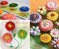 Great flower cupcakes