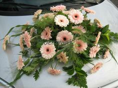 Bridal Car, Floral Wreath, Herbs, Gardening, Wreaths, Plants, Decor, Flower Arrangements, Floral Crown
