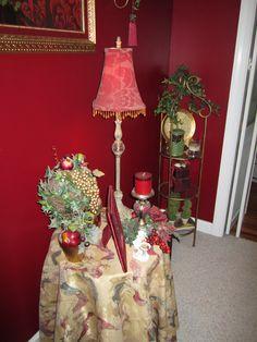 I love red..can't ya tell?