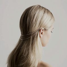 Honestly, I would love this to keep my hair back without putting it up.