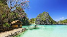 Coron, Philippines~ Coron is repeatedly voted as 1 of the ten best islands to visit in the world. Known for its lakes, lagoons, beaches and reef wreck diving. The natural beauty of Coron will leave you awestruck. Voyage Philippines, Les Philippines, Philippines Travel, Boracay Philippines, Places Around The World, The Places Youll Go, Places To Visit, Around The Worlds, Coron Island