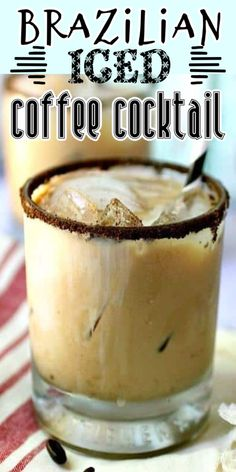 Smoothie Drinks, Smoothies, Alcohol Drink Recipes, Coffee Cocktails, Coffee Recipes, Summer Drinks, Cocktail Recipes, Food And Drink, Iced Coffee