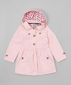 Another great find on #zulily! Pink Trench Coat - Infant & Toddler by OshKosh B'gosh #zulilyfinds