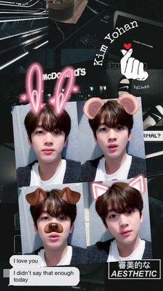 My Only Love, I Love You, Korea Boy, Kpop Fanart, Tumblr Wallpaper, My Sunshine, Aesthetic Wallpapers, Boy Groups, Kpop Boy