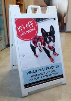 This Masters N' Dogs a-frame insert was created by Speedpro Imaging Ottawa! Outdoor Signage, Ottawa, Toy Chest, Banners, Storage Chest, Your Dog, Dog Cat, Cats, Frame