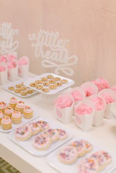 Little Eats mini food station from Style Me Pretty's American Girl birthday party