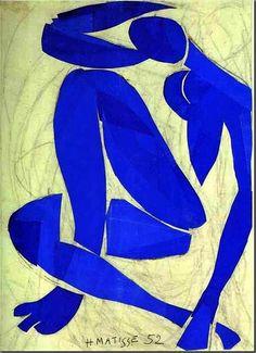 Matisse, Desnudo azul IV