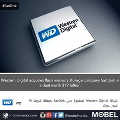 Western Digital acquires flash memory storage company SanDisk in a deal worth $19 billion
