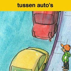 oversteken auto spel voor de kinderen van groep 3&4.