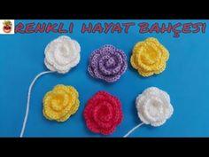 Tığ İşi Patik Çiçeği Gül Yapımı - Patik, Örgü İçin Süsleme/Anlatımlı Yapılışı/Örgü Dantel Oya El İşi - YouTube Crewel Embroidery, Embroidery Designs, Watch Diy, Hand Embroidery Tutorial, Macrame Patterns, Crochet Accessories, Baby Knitting Patterns, Crochet Flowers, Crochet Baby