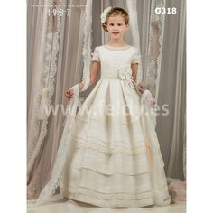 Communion dress Hannibal Laguna 2017 G340