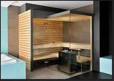 Image result for corner sauna