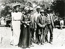 Juneteenth celebration in Austin, Texas, on June 19, 1900. Also calledFreedom Day or Emancipation Day