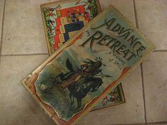 Antique Mcloughlin Bros Advance Retreat Game Native American Indian 1901 | eBay