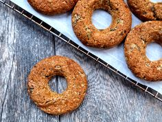 Pear Ginger Donuts