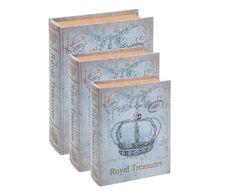 JOGO DE BOOK BOXES ROYAL TREASURES