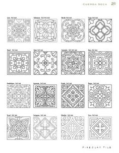 Cuerda Seca by Fireclay Tile - issuu