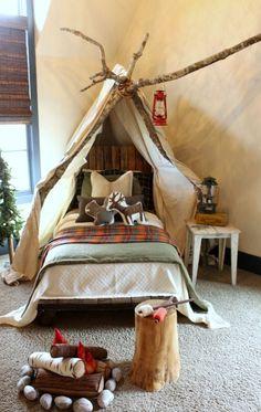 Parade of Homes Inspiration #bedroom #child_bedroom #camping_bedroom