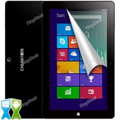 "CHUWI Vi10 Pro 10.6"" IPS Screen Win8.1 Android 4.4 Dual OS Intel Z3736F 2GB 64GB Tablet PC w/ Bluetooth HDMI USB ETC-410222"