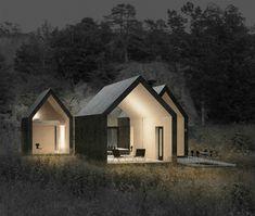 Chalet minimaliste Reiulf Ramstad