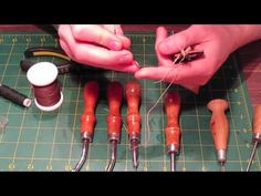 The Tools You Need for Leatherwork