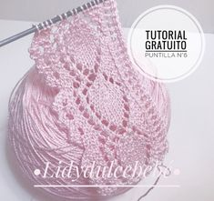Knit Point of Flower Stitch Free Knitting Pattern+Video Baby Knitting Patterns, Lace Patterns, Knitting Stitches, Crochet Patterns, Drops Design, Crochet Diy, Easy Knitting, Free Images, Blog