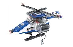 Ausini City Police Search and Rescue Helicopter 126pc Building Blocks Educational Set Compatible to Lego Parts  Best Gift for Boys and Girls *** See this great product.Note:It is affiliate link to Amazon.