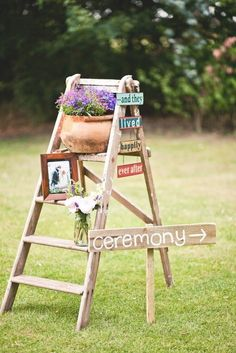 Now that we're having a very small, intimate, backyard wedding, I need to find small touches like this!