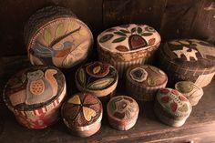 Woolen boxes