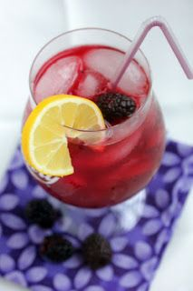 Mrs. Regueiro's Plate: Blackberry Lemonade