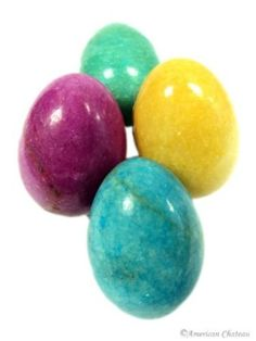 Set of 4 Heavy Stone Easter Eggs - Assorted Colors byAmerican Chateau 5.0 out of 5 starsSee all reviews(1...