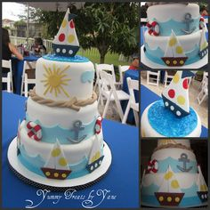 Nautical Themed Cake