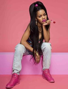 Teyana Taylor Channels the in Sporty New Reebok Campaign – Footwear News Pharrell Williams, Teyana Taylor Reebok, Kanye West, Black Girl Magic, Black Girls, Photographie Street Art, Photoshoot Themes, Black Girl Aesthetic, New Reebok
