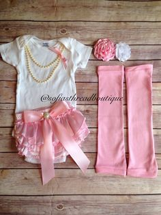 Baby girl clothes, pink satin diaper cover, matching set, girl clothes, leg warmers, baby girl outfit, birthday outfit, smash cake outfit by Sofiasthreadboutique on Etsy https://www.etsy.com/listing/238319856/baby-girl-clothes-pink-satin-diaper