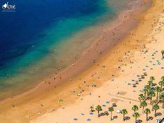 Las Teresitas, mooi strand op Tenerife