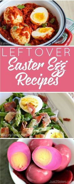Wondering what to do with leftover deviled eggs from Easter? Here are some delicious leftover Easter egg recipes! Spring Recipes, Easter Recipes, Egg Recipes, Holiday Recipes, Salad Recipes, Vegetable Side Dishes, Vegetable Recipes, St Patricks Day Food