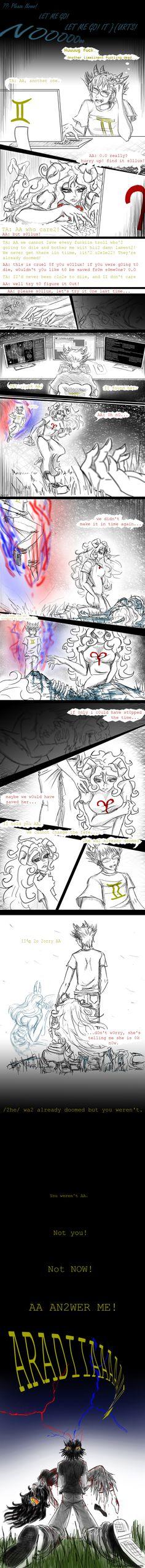 Doomed - Sadstuck AraSol by Axylh.deviantart.com on @DeviantArt