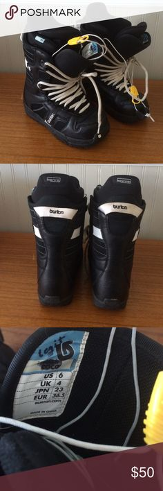 Burton Coco snowboarding boots GUC!  Great quality boots!  Style is Coco. Burton Shoes Winter & Rain Boots