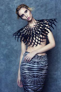 Interview : La créatrice Rochaele Siobhan et sa collection Unapologetic Body  #design #interview #mode #fashion #dress