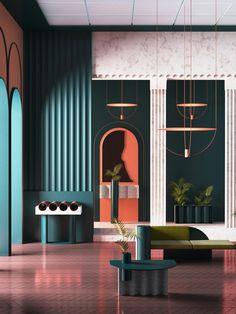 70 New Ideas for house contemporary interior furniture Contemporary Interior Design, Modern Interior Design, Interior Design Inspiration, Interior Architecture, Modern Contemporary, Design Ideas, Design Trends, Color Interior, Modern Art Deco